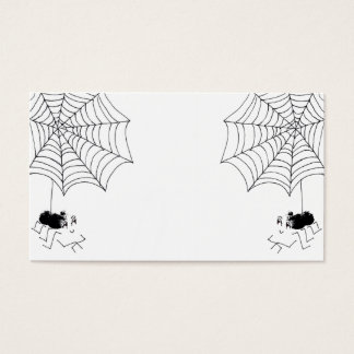 Satisfied Spider Business Card