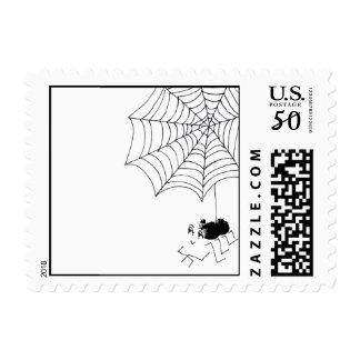 Satisfied Spider Postage