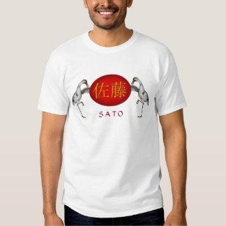 Sato Monogram Crane Shirt