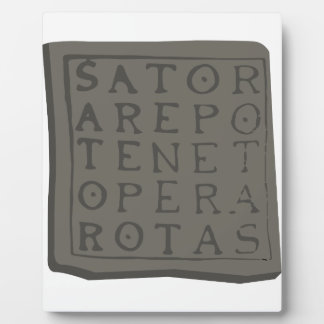 Sator Square Plaque