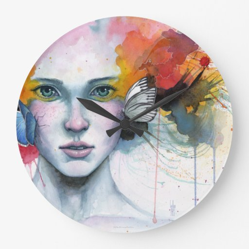 Satori · Clock Reloj Redondo Grande
