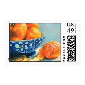 Satsumas Postage Stamp