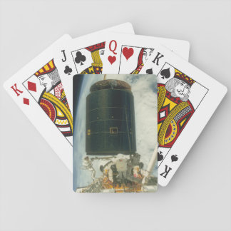 Sattelite. (satellite;earth_Space Playing Cards