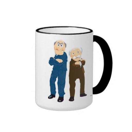 Sattler And Waldorf Arms Crossed Coffee Mugs