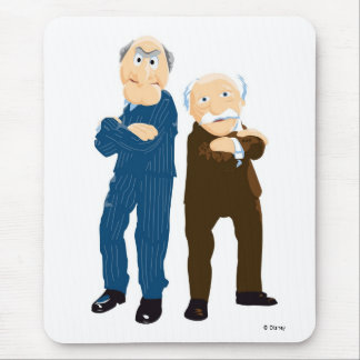 Sattler And Waldorf Arms Crossed Mouse Pad