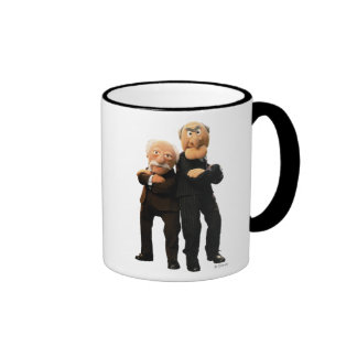 Sattler And Waldorf Arms Crossed Ringer Coffee Mug