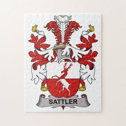 Sattler Family Crest Puzzle
