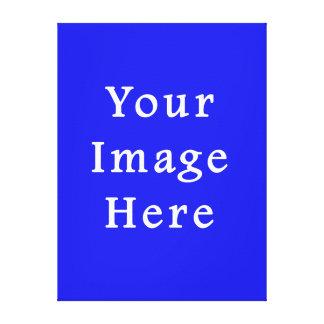 Saturated Blue Hanukkah Chanukah Hanukah Template Canvas Print
