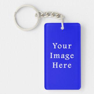 Saturated Blue Hanukkah Chanukah Hanukah Template Keychain