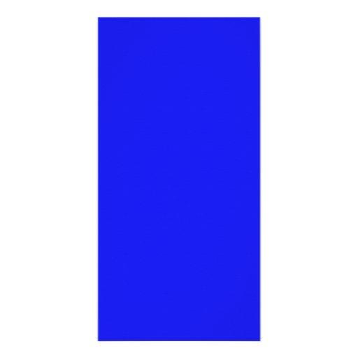 Saturated Blue Hanukkah Chanukah Hanukah Template Photo Card Template