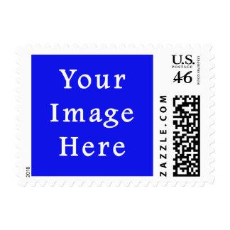 Saturated Blue Hanukkah Chanukah Hanukah Template Postage Stamps