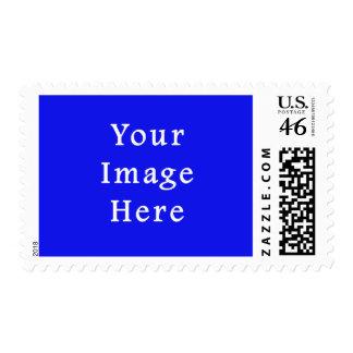 Saturated Blue Hanukkah Chanukah Hanukah Template Postage