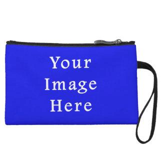 Saturated Blue Hanukkah Chanukah Hanukah Template Wristlet Wallet