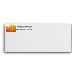 Saturated grass tree florida background envelope