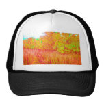 Saturated grass tree florida background trucker hats