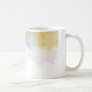 Saturated Stripes watercolor Coffee Mug