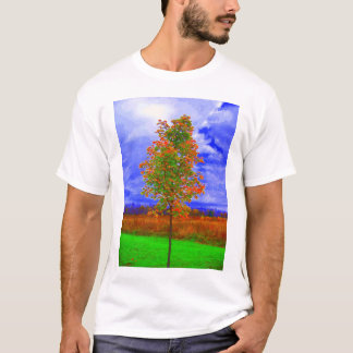 saturated tree shirt