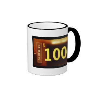 SATURATION 100% COFFEE CUP RINGER MUG