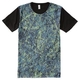SATURATION (an abstract art design) ~ All-Over Print T-shirt