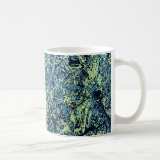 SATURATION (an abstract art design) ~ Classic White Coffee Mug