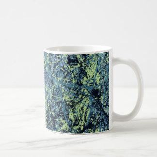 SATURATION (an abstract art design) ~ Coffee Mug