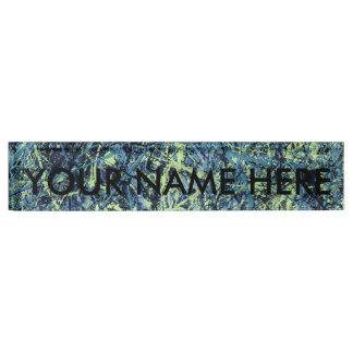 SATURATION (an abstract art design) ~ Desk Name Plate