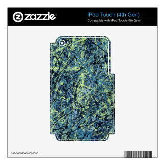 SATURATION (an abstract art design) ~ Decal For iPod Touch 4G