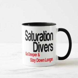 Saturation Divers Go Deeper Mug