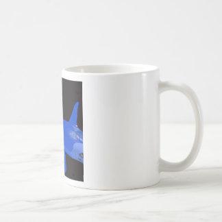 Saturday Blue Orca Coffee Mug