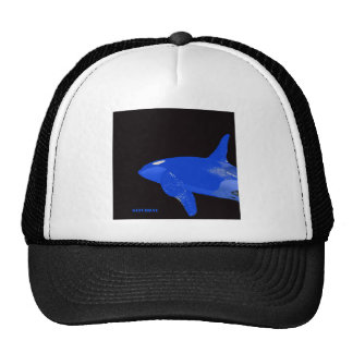 Saturday Blue Orca Trucker Hat