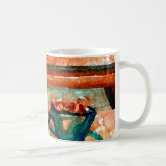 """Saturday Coffee"" - CricketDiane Designer Stuff Coffee Mug"