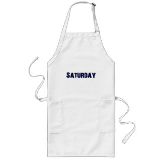 Saturday Day of the Week Merchandise Long Apron