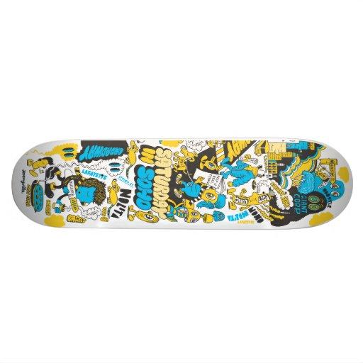 Saturday in Soho Skateboard