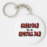 Saturday is a Special Day Key Chains