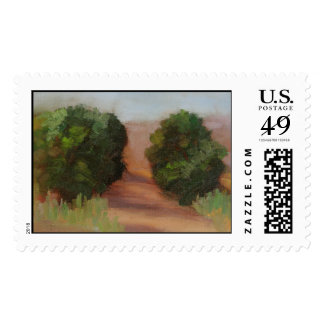 Saturday Morning Hike Postage Stamps