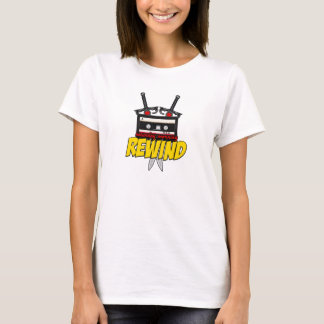 Saturday Morning Rewind: Cartoon Podcast Shirt