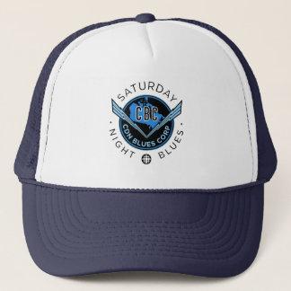 Saturday Night Blues Trucker Hat