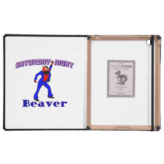 Saturday Night Disco Beaver iPad Cover