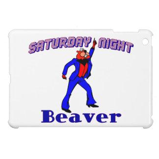 Saturday Night Disco Beaver iPad Mini Cases