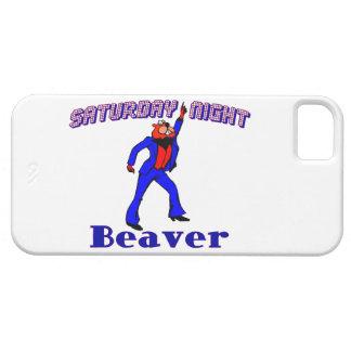 Saturday Night Disco Beaver iPhone SE/5/5s Case