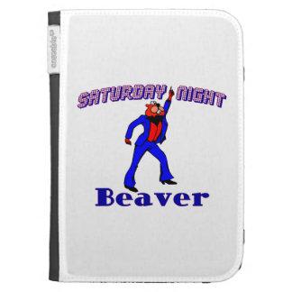 Saturday Night Disco Beaver Kindle 3G Cover
