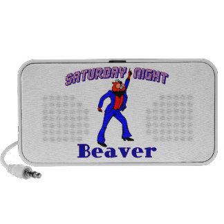 Saturday Night Disco Beaver Speaker