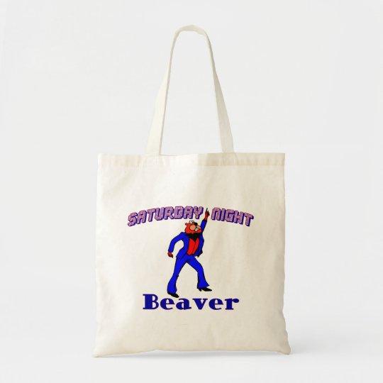 Saturday Night Disco Beaver Tote Bag