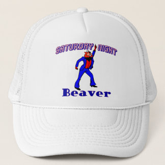 Saturday Night Disco Beaver Trucker Hat
