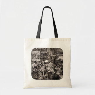 Saturday Night In The East End Tote Bag