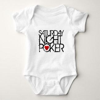 Saturday Night Poker Baby Bodysuit