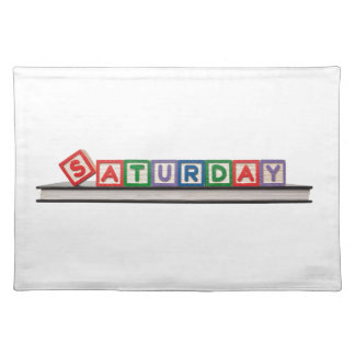 Saturday Placemat