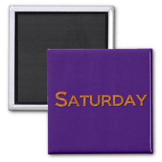 Saturday Teaching or Memory Aid Magnet