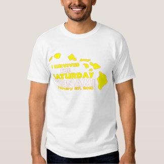 Saturday Tsunami Survivor Shirt