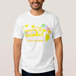 Saturday Tsunami Survivor T Shirt